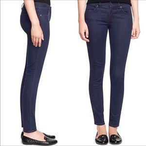 Tory Burch Logo Indigo Legging Jeans Size 26